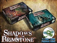 Shadows of Brimstone by Flying Frog Productions — Kickstarter
