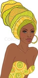 http://www.colourbox.com/vector/girl-with-vase-on-head-stencil-in-african-style-stencil-vector-4218871