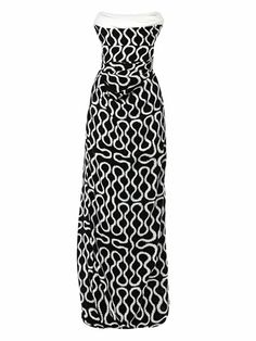 Exclusive Ball tie squiggle-print gown | Vivienne Westwood Gol...