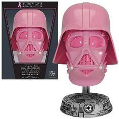 Star Wars SDCC Charity Vader Helmet, Pink