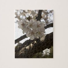 Apple Blossoms Jigsaw Puzzle - spring gifts beautiful diy spring time new year