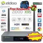 ZIDOO X9S Android 6.0 Realtek RTD1295 2G/16G KODI XBMC 4K Smart TV Box &Keyboard