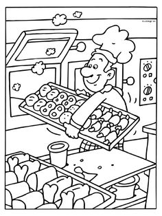 Distinctive and Artistic baker The Effective Pictures We Offer You About Coloring Pages aesthetic A quality picture can tell you many things. Animal Coloring Pages, Colouring Pages, Coloring Pages For Kids, Coloring Sheets, Adult Coloring, Coloring Books, Preschool Education, Teaching Kids, 5 Senses Craft