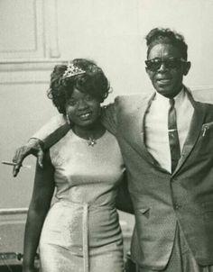 Koko Taylor and Lightnin' Hopkins