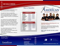 Graphic design for brochure