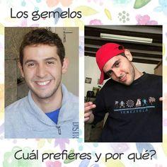 Los gemelos... Cuál prefieres y por qué?     #lavidadem #makeupbymh
