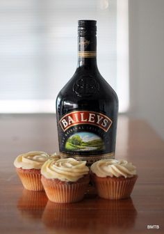 Baileys White Chocolate Cupcakes by Baking Makes Things Better