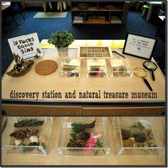 Beautiful invitation to explore children's treasures