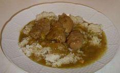 Kuřecí játra osmažená na cibulce. Jako přílohu volíme rýži. Autor: jamajka