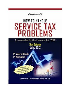 How to Handle Service Tax Problems