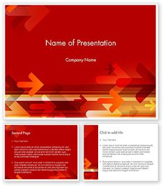 Free red modern powerpoint template is a fresh and free background httppoweredtemplate121250index toneelgroepblik Choice Image