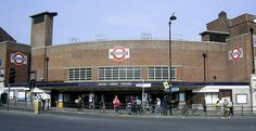 WOOD GREEN TUBE STATION   WOOD GREEN   HARINGEY   LONDON   ENGLAND: *London Underground: Piccadilly Line* London Underground Stations, Train Station, London England, Tube, Street View, Building, Wood, Places, Green