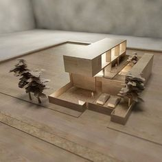 "arcfly: ""SGH House by @raynaldotheodore #archidesignhome #archmodels #architects ____________________________ . Tag #arcfly To get featured. . Tag your archi friends. . ____________________________ #architecturalmodel #archidesign #woodmodels..."