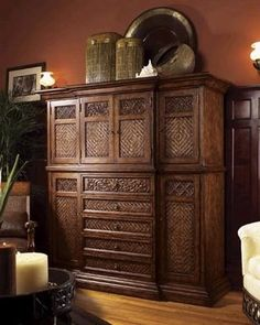Tommy Bahama---beautiful piece of furniture.