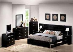 black bedroom sets queen - Stunningly Black Bedroom Sets – Home ...