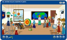 Unidad didáctica interactiva para trabajar el Sistema Solar.