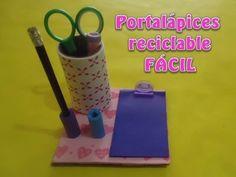 Portalápices reciclable FÁCIL