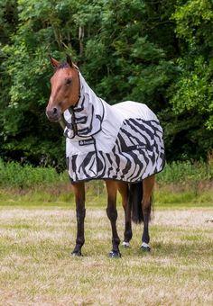 Bucas Zebra Rain Waterproof Buzz-Off Lightweight Full Neck Horse Fly Rug/Sheet   eBay