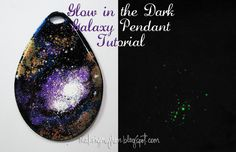 SweetStamps BLOG : Glow in the Dark Galaxy Pendant; Globecraft and Piccolo; DT Angie