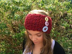 Available to buy from my Etsy shop https://www.etsy.com/uk/listing/469860422/pretty-hand-crocheted-chunky-headband