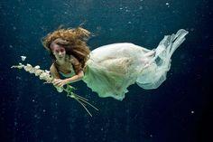 Underwater Fashion Photography Underwater fashion