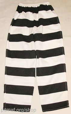 Pants - Prison Stripes