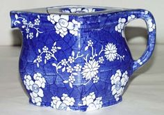 Rubian Art - Cracked Ice and Prunus - Teapot c1930