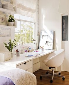 Home Office Essentials . Home Office Essentials . Home Fice Room Ideas Home D Create Stylish Productive Sweet Home, Small Home Offices, Ikea, House Rooms, My Room, Girls Bedroom, Home Projects, Home Furniture, Room Decor