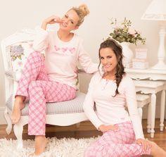 Pijamas femininos em algodão!