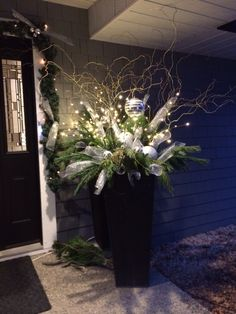 My own Winter planter creation 2014