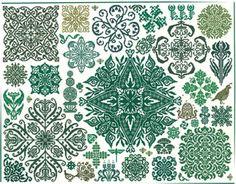 Ink Circles - Garden Stars