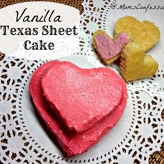Vanilla Texas Sheet Cake by momsconfession