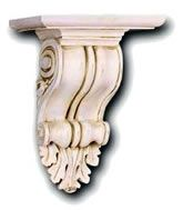 Decorative Wall Mounts | See our gallery of ornamental brackets, decorative corbels, and wall ...