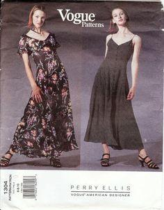 PERRY ELLIS Uncut Vogue American Designer by AllThingsVogue