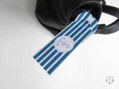 Étiquette pour bagages {printable} - Potentiel Créatif