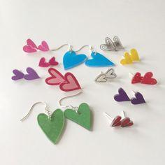 DIY Heart Earrings – Indie Crafts