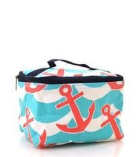 Anchor Wave Print Cosmetic Pouch $9.95 http://www.sparklyexpressions.com/#1019