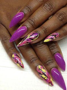 Stiletto Nails - Nail Trends