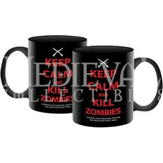 Keep Calm Zombie Mug - ND-47017 by Medieval Collectibles