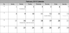 Download Print February 2015 Calendar Template & Design. Blank January 2015 Calendar Printable Pages, Excel, PDF, Pictures, Wallpapers, Images, Photos