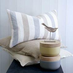 Delphi Striped Cushion