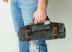 Leather Tooling, Leather Men, Leather Wallet, Recycled Leather, Leather Craft, Canvas Tool Bag, Harbor Freight Tools, Personalised Gifts For Him, Unique Gifts For Men