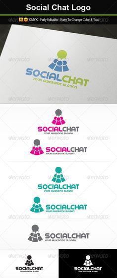 Social Chat Logo ~ 29$