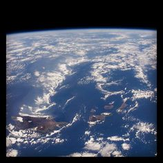 Hawaii, as seen from the International Space Station, 12/29/11 #nasa #space #hawaii #iss