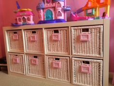 Austin Liz Stays Home: Replacing the Drona Boxes With Branas Boxes - Girls Room Post #2
