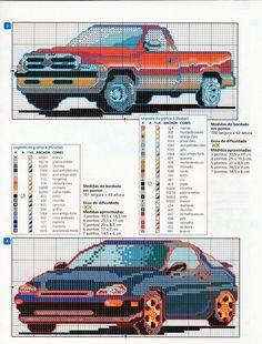 ♥Meus Gráficos De Ponto Cruz♥: Carros Esportivos em Ponto Cruz