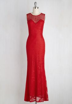 Here Today, Gown Tomorrow Dress in Scarlet
