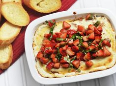 Serve up Some Savory Sweetness With Balsamic Strawberry Goat Cheese Dip