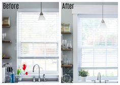 DIY Interior Window Trim and Kitchen Makeover Reveal | Lost & Found