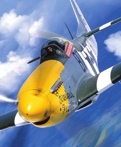 You can't imagine the feeling of wonder, viewing a vintage aircraft and watching a vintage aircraft flying. Air Fighter, Fighter Pilot, Fighter Jets, Ww2 Aircraft, Fighter Aircraft, Military Jets, Military Aircraft, Airplane Fighter, P51 Mustang